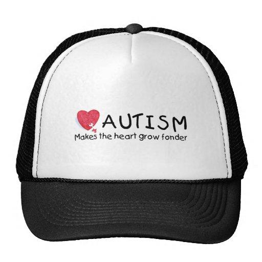 El autismo hace que el corazón crece más encariñad gorra