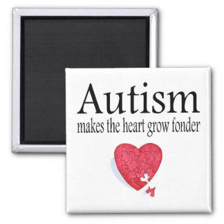 El autismo hace que el corazón crece más imanes de nevera
