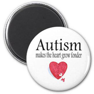 El autismo hace que el corazón crece más imanes