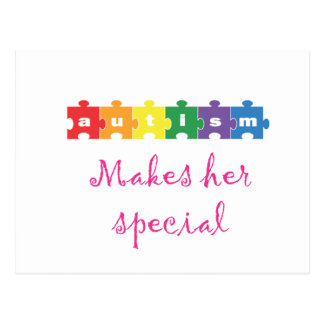 El autismo hace su special postales