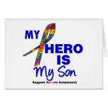 El autismo mi héroe es mi hijo felicitaciones