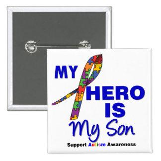El autismo mi héroe es mi hijo pin