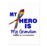 El autismo mi héroe es mi nieto postal