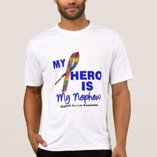 El autismo mi héroe es mi sobrino camisetas