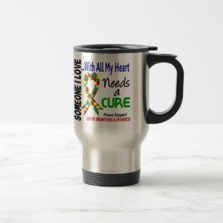 El autismo necesita una curación 3 taza térmica