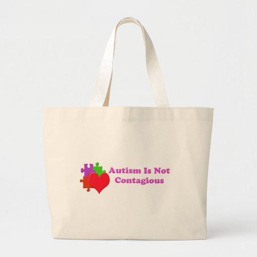 El autismo no es contagioso bolsas