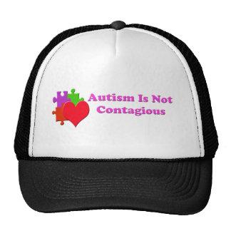 El autismo no es contagioso gorras de camionero
