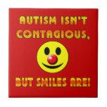 El autismo no es contagioso pero las sonrisas son tejas