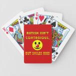 El autismo no es contagioso pero las sonrisas son cartas de juego
