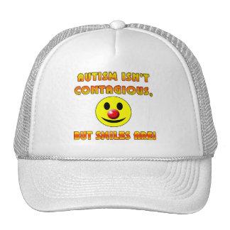 El autismo no es contagioso pero las sonrisas son gorros