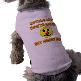 El autismo no es contagioso pero las sonrisas son ropa perro