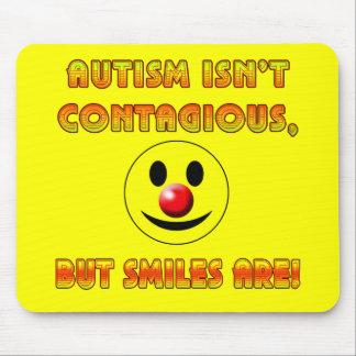 El autismo no es contagioso pero las sonrisas son alfombrilla de ratones