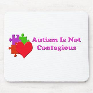 El autismo no es contagioso tapete de raton