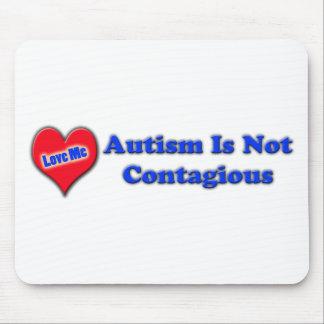 El autismo no es contagioso tapetes de ratones