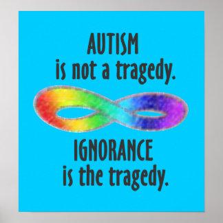 El autismo no es un poster de la tragedia