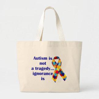 El autismo no es una tragedia, ignorancia es bolsa tela grande