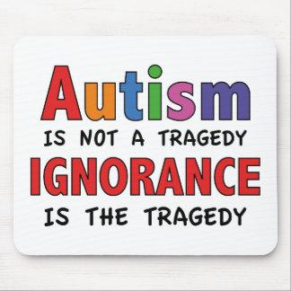 El autismo no es una tragedia, ignorancia es la alfombrillas de ratón