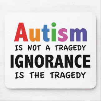 El autismo no es una tragedia, ignorancia es la alfombrillas de ratones