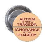 El autismo no es una tragedia pins