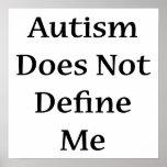 El autismo no me define impresiones