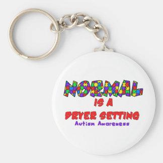 El autismo normal es un ajuste más seco llavero
