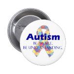El autismo sea consciente esté entendiendo pins