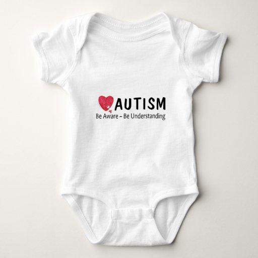 El autismo sea consciente esté entendiendo playeras