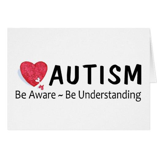 El autismo sea consciente esté entendiendo felicitacion