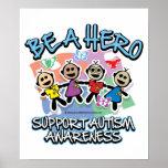 El autismo sea un héroe poster