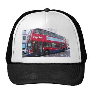 El autobús de dos pisos de Londres Gorro