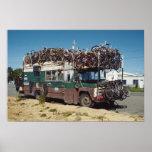 El autobús de la bicicleta posters