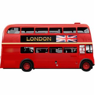 El autobús de Londres Escultura Fotográfica