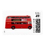 El autobús de Londres Franqueo