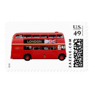 El autobús de Londres Sellos Postales