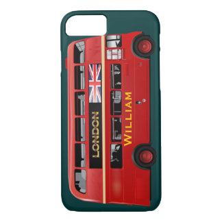 El autobús del rojo de Londres Funda iPhone 7