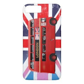 El autobús del rojo de Londres Funda iPhone 7 Plus
