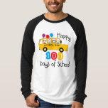 El autobús escolar celebra 100 días camisas