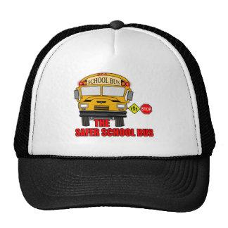 El autobús escolar más seguro gorra