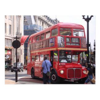 El autobús viejo postales