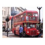 El autobús viejo tarjetas postales