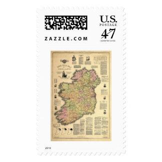 El autogobierno de Irlanda por la balanza 1893 Estampilla