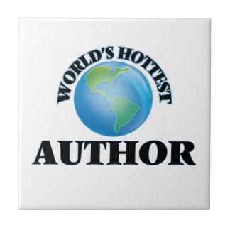 El autor más caliente del mundo azulejo