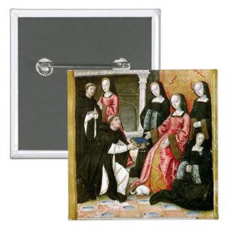 El autor que ofrece su libro a Anne de Pin Cuadrado