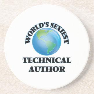El autor técnico más atractivo del mundo posavasos personalizados