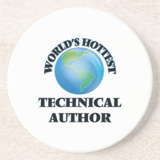 El autor técnico más caliente del mundo posavasos para bebidas