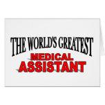 El auxiliar médico más grande del mundo felicitaciones