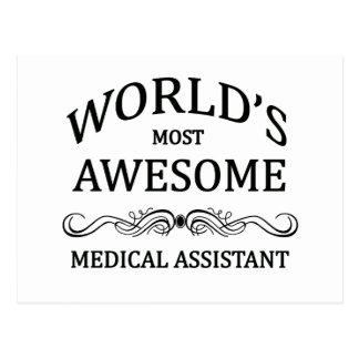 El auxiliar médico más impresionante del mundo tarjetas postales
