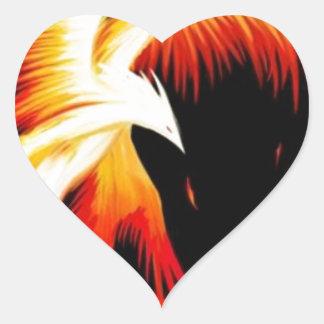 el_ave_fenix.jpg pegatina en forma de corazón