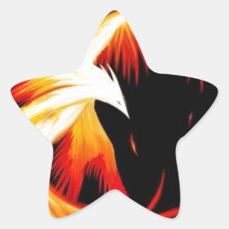 el_ave_fenix.jpg pegatina en forma de estrella
