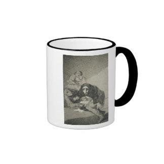 El avergonzado taza